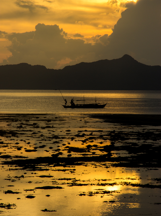 Sunset in El Nido Bay