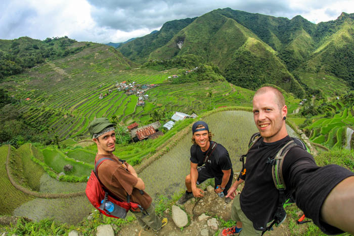 View from the top of Batad Rice Terraces.