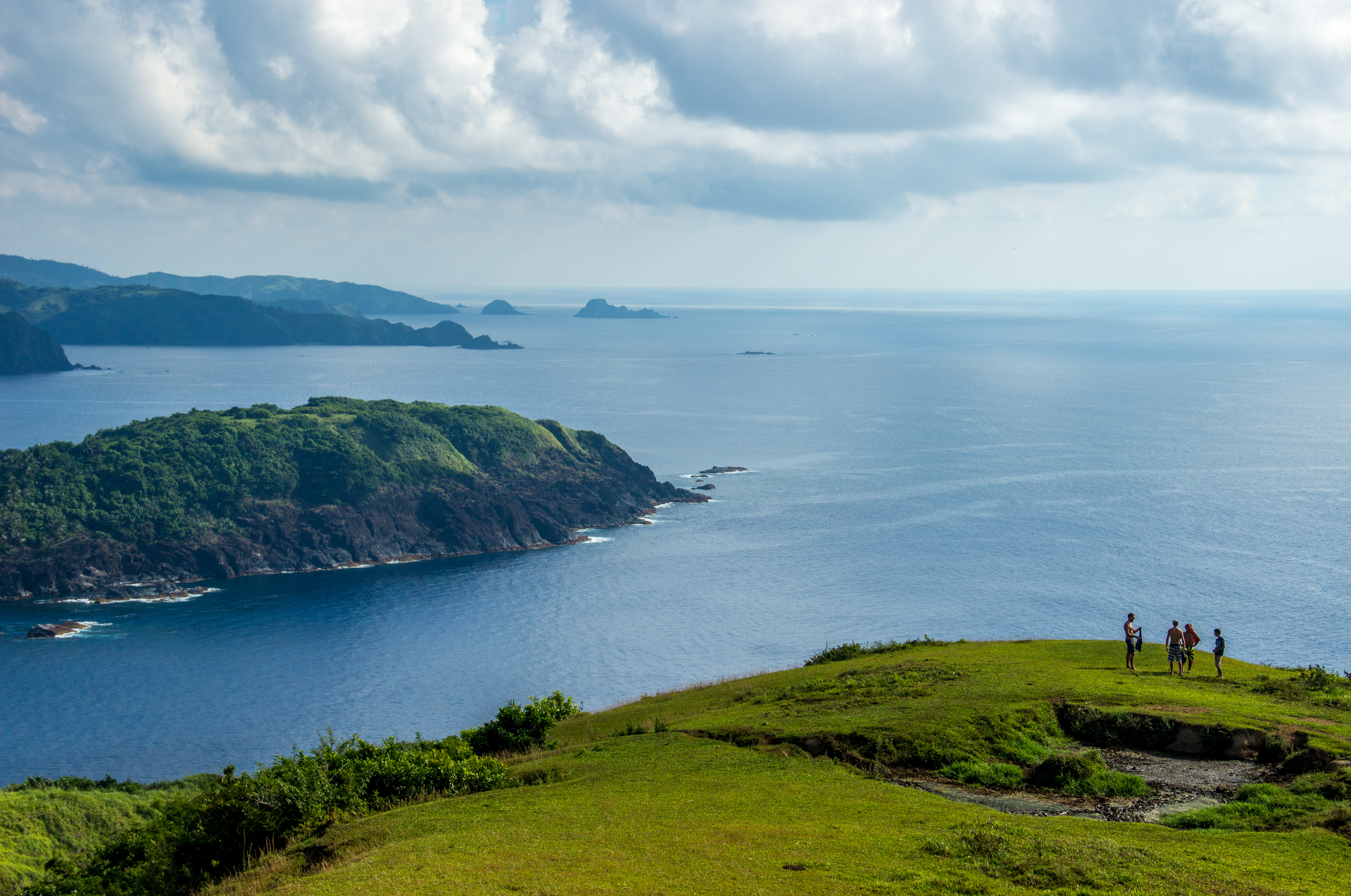 View down the coast of Catanduanes from the Cliffs.