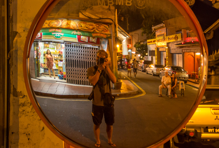 Getting lost in the streets of Malacca