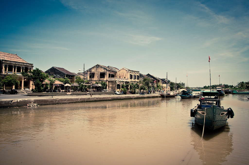 Hoi An during daytime