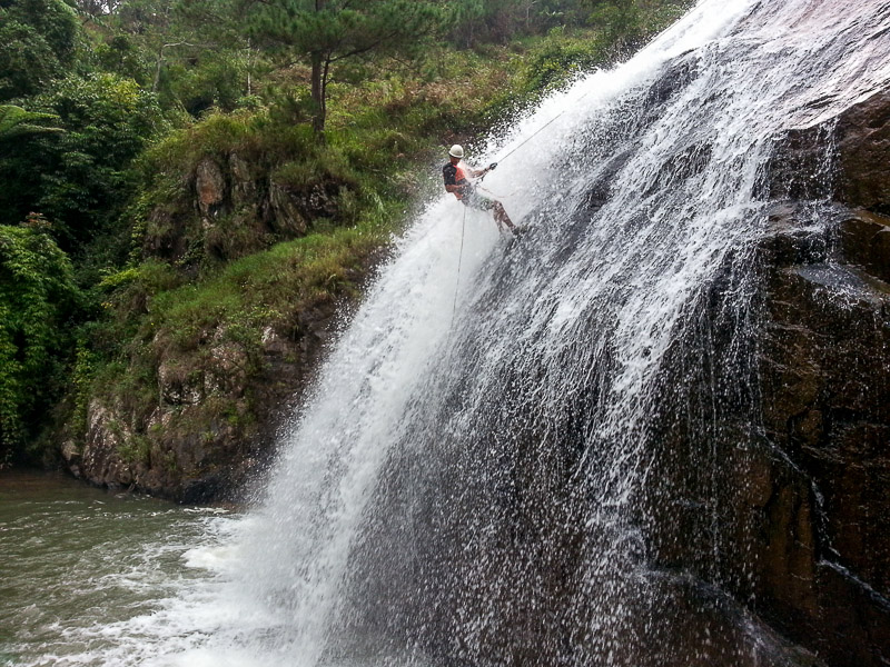 Dalat Abseiling and Canyoning, Vietnam