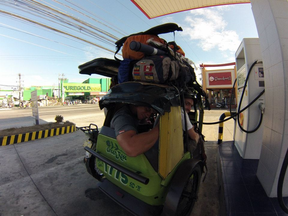 Tricycle in the Philippines.