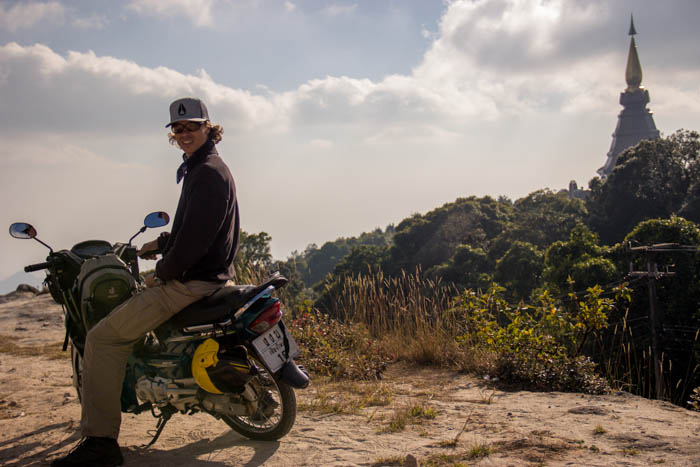 Mae Hong Loop by motorbike