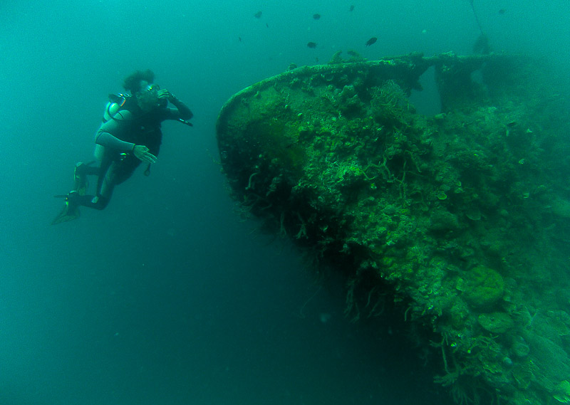 Wreck Diving-Coron