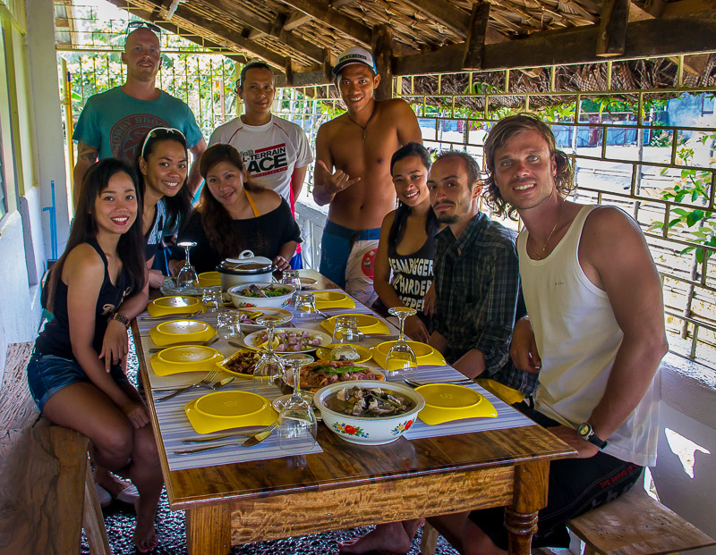 Invited for a delicious, local lunch in Gubat, Sorsogon - The Philippines.