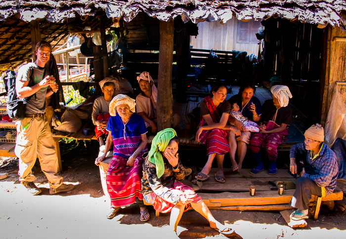 Thai Hill tribe women