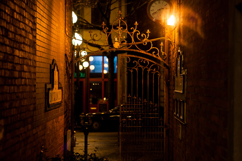 Gastown alley, Vancouver