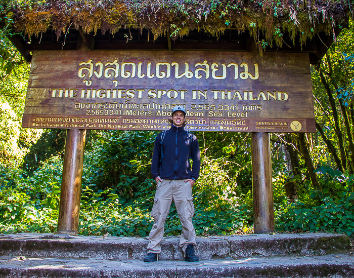 Doi Inthanon peak