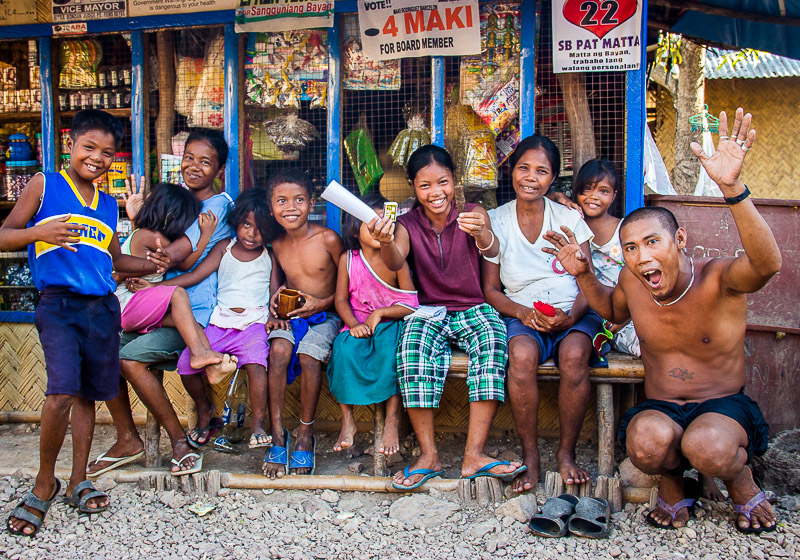 Group of locals Coron