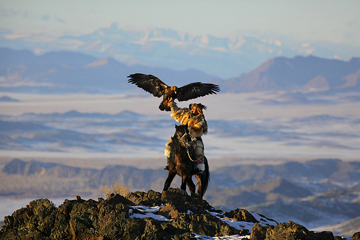 Eagle Hunter Mongolia by Timothy Allen