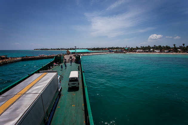 Ferry to Bantayan.