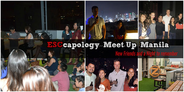 Escapology meet-up manila