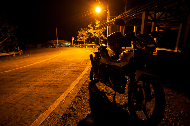 Transcentral Highway by night